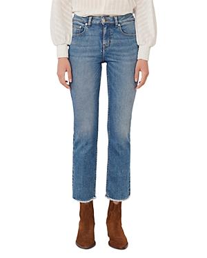 Maje Pachab Straight Leg Jeans