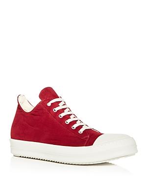 Rick Owens Men\\\'s Low Top Sneakers
