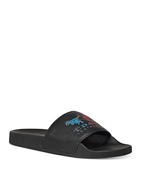 COACH - Women's Udele Rainbow Logo Sport Slide Sandals