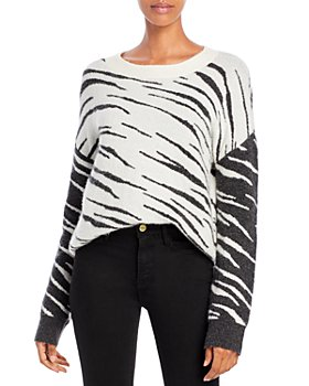 Rails -  Lana Leopard-Pattern Sweater