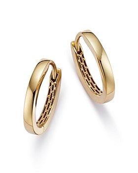 Bloomingdale's - Huggie Hoop Earrings in 14K Yellow Gold- 100% Exclusive