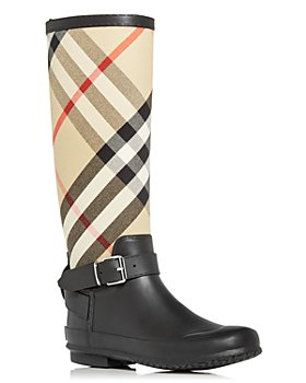 Burberry - Women's Simeon Check Rain Boots