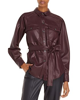 Rebecca Taylor - Vegan Leather Jacket