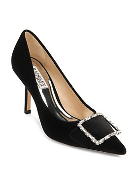 Badgley Mischka - Women's Devi Embellished Pumps