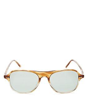 Oliver Peoples - Unisex Nilos Square Sunglasses, 53mm