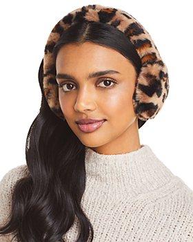 UGG® - Faux Fur Leopard Print Earmuff