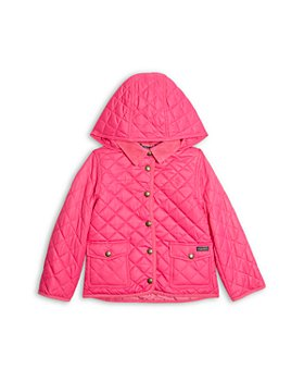 Ralph Lauren - Girls' Water Resistant Hooded Barn Jacket - Little Kid, Big Kid