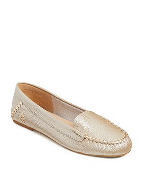 Jack Rogers - Women's Millie Tumbled Leather Moccasins