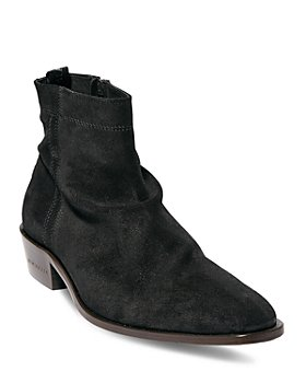 ALLSAINTS - Men's Harris Side Zip Slouch Boots