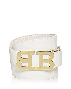 Bally - Men's Mirror B Buckle Reversible Leather Belt