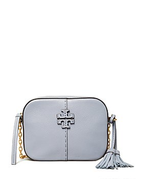 Tory Burch - McGraw Mini Leather Crossbody Camera Bag