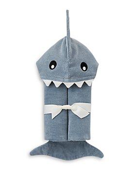 Elegant Baby - Unisex Shark Bath Wrap - Baby