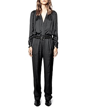 Zadig & Voltaire - Captain Satin Jumpsuit