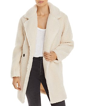 AQUA - Faux Sherpa Fur Jacket - 100% Exclusive