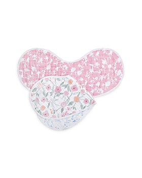 Aden and Anais - 2 Pk. Classic Printed Burpy Bibs