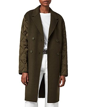 ALLSAINTS - Florence Quilted Sleeve Coat