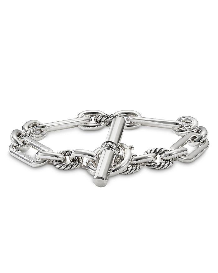 David Yurman - Lexington Chain Bracelet with Diamonds