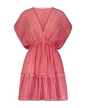 Lemlem - Wubet Plunge Neck Mini Dress