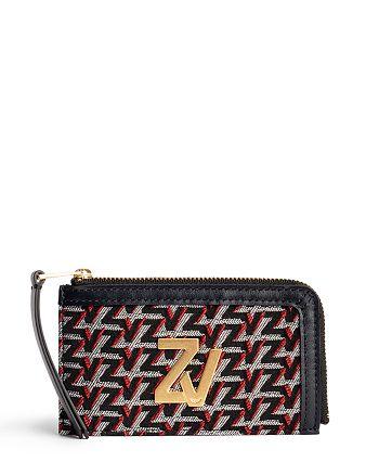 Zadig & Voltaire - ZV Initiale Medium Monogram Zip Around Wallet