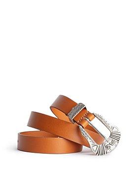 Zadig & Voltaire - Women's Alton Smooth Leather Belt