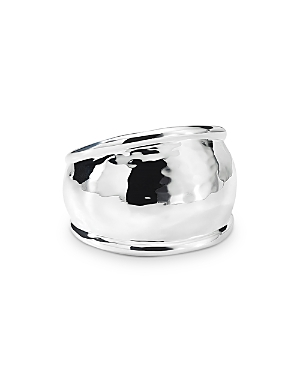 Ippolita Sterling Silver Classico Hammered Dome Ring-Jewelry & Accessories