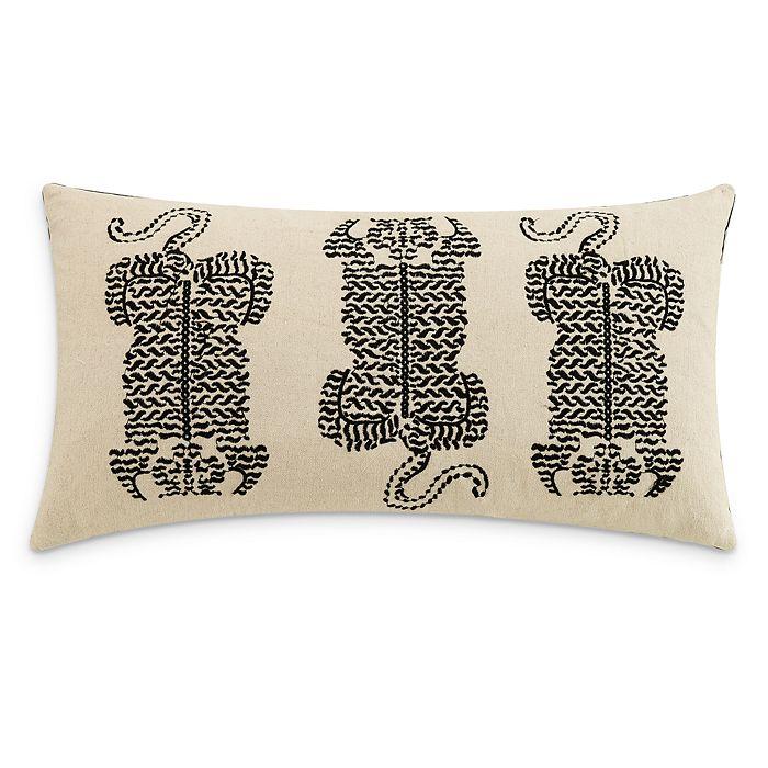 """Lemieux Et Cie - Tiger Decorative Pillow, 14"""" x 26"""""""
