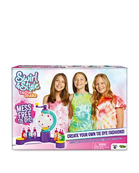 LICENSE 2 PLAY - Swirl & Style Tie-Dye Studio Set - Ages 6+