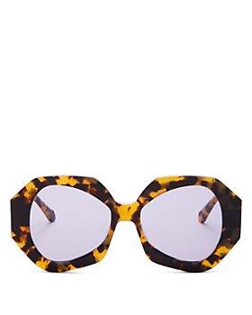 Karen Walker - Women's Phoenix Oversized Sunglasses, 54MM