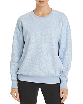 AQUA - Leopard Gloss Sweatshirt - 100% Exclusive
