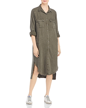 Billy T Leeway Faded Chambray Shirt Dress