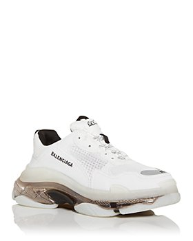 Balenciaga - Men's Triple S Clear Sole Low Top Sneakers