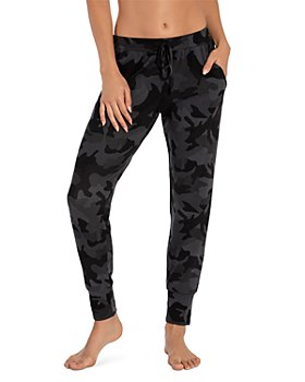 Midnight Bakery - Camo Print Jogger Pants