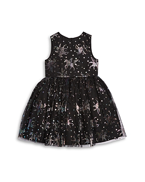 Pippa & Julie Girls\\\' Foil Unicorn Print Mesh Dress - Little Kid-Kids