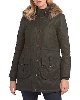 Barbour - Homeswood Hooded Waxed Cotton Coat