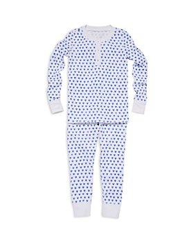 Roller Rabbit - Unisex Heart Pajama Set - Little Kid, Big Kid