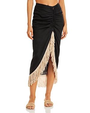 Mallorca Fringed Skirt