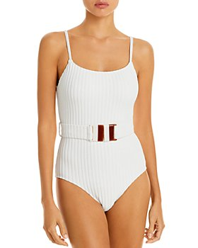 Solid & Striped - The Nina Belted One Piece Swimsuit