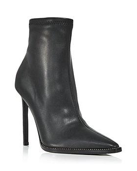 AQUA - Women's Valry Snip Toe Stretch High Heel Booties - 100% Exclusive