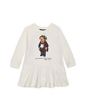 Ralph Lauren - Girls' Polo Bear Sweatshirt Dress - Little Kid