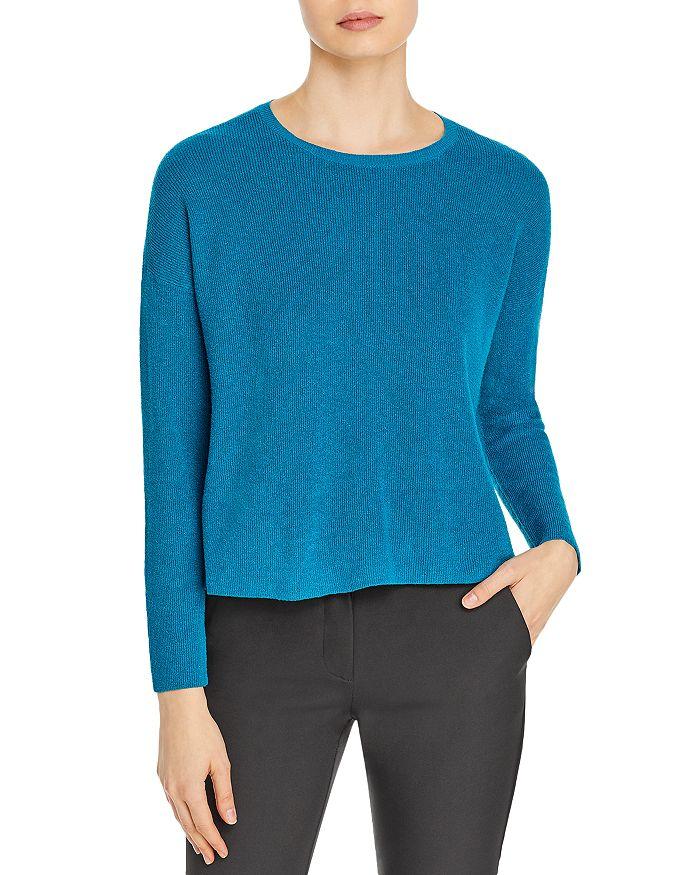 Eileen Fisher - Boxy Organic Linen Blend Sweater