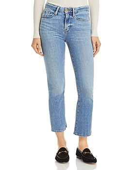 FRAME - Le Cropped Mini Bootcut Jeans in Melville