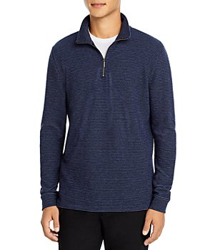 The Men's Store at Bloomingdale's - Two-Tone Half-Zip Pullover - 100% Exclusive