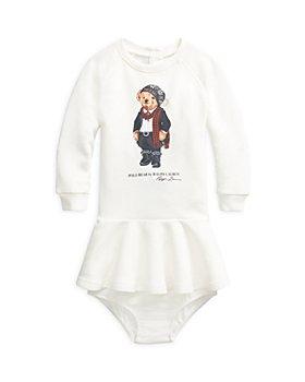 Ralph Lauren - Girls' Bear French Terry Dress - Baby