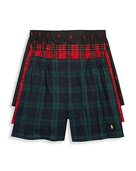 Polo Ralph Lauren - Woven Boxers, Pack of 3