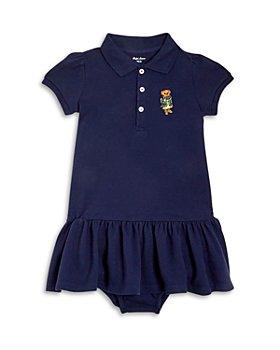 Ralph Lauren - Girls' Bear Dress & Bloomer Set - Baby