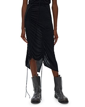 Helmut Lang - Scala Ruched Skirt