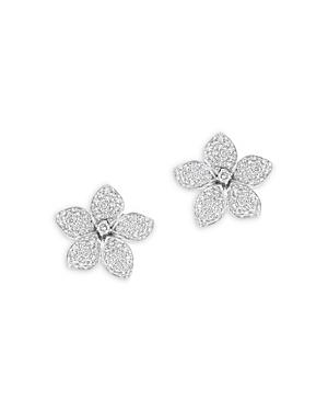 Bloomingdale's Diamond Flower Stud Earrings in 14K White Gold, 1.50 ct. t.w. - 100% Exclusive