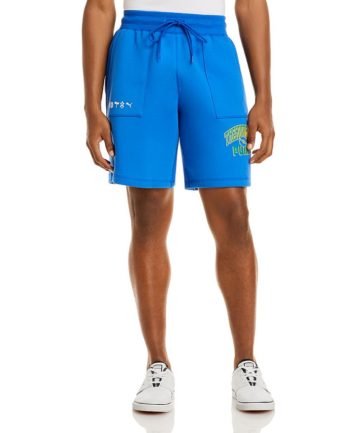 Puma X Th Reversible Shorts In Blue