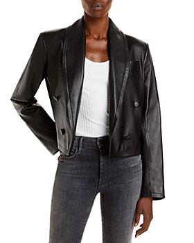 Anine Bing - Mae Leather Blazer