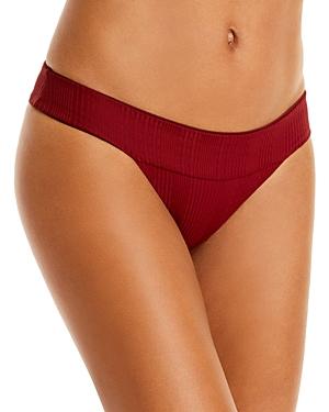 L*Space Veronica Ribbed Bikini Bottom